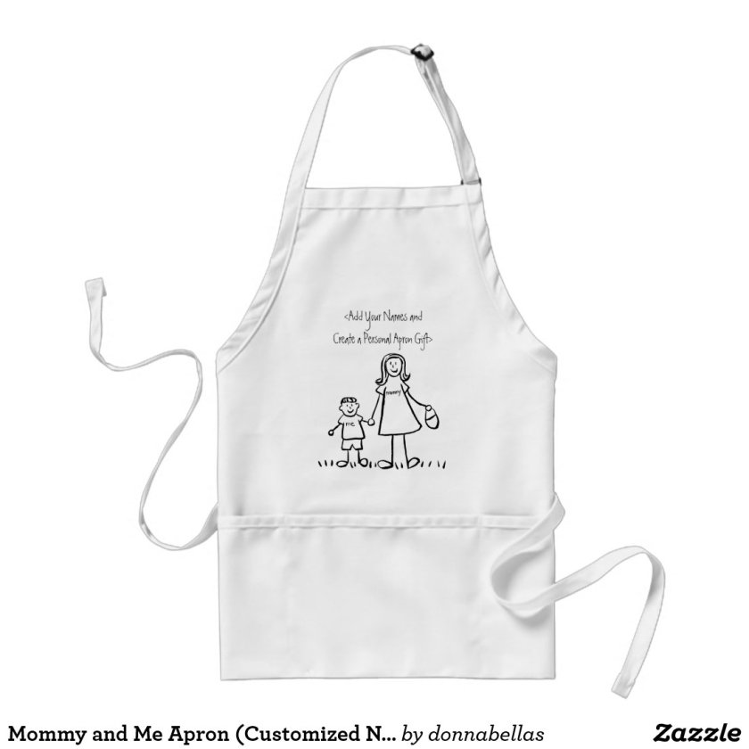Mommy and Me Apron (Customized Names)