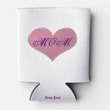 Mom's Favorite Drink Cozy Can Cooler