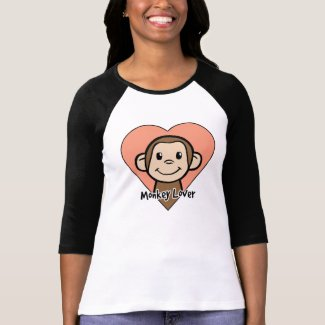 Monkey Lover Tee Shirts