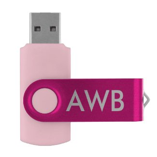 Monogram PERSONALIZE pink girls