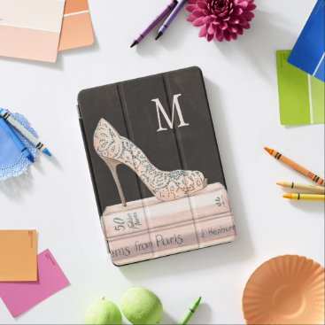 Monogram | Wild Apple | Elegant High Heel Fashion iPad Air Cover