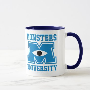 Monsters University Blue Logo Mug