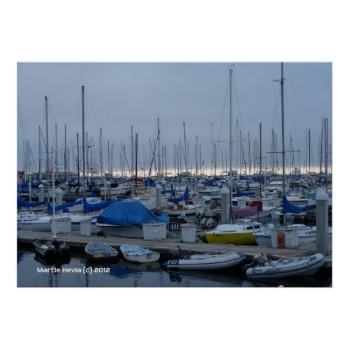Monterey Marina zazzle_print