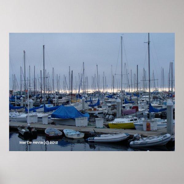 Monterey Marina zazzle_print