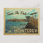 Monterey Save The Date Vintage Postcards