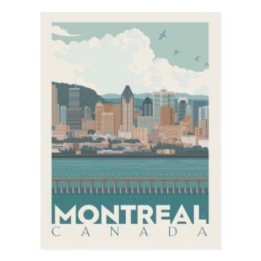 Montreal, Canada | Skyline Postcard