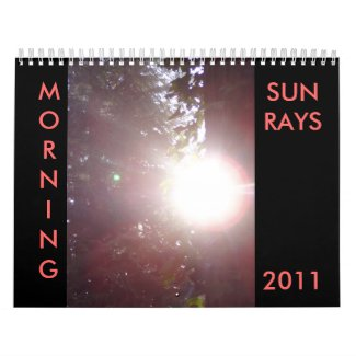 MORNING SUNRAYS 2011 Calendar calendar