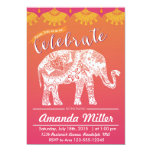 ❤️ Moroccan Party - Indian Inspiration - India theme Invitation