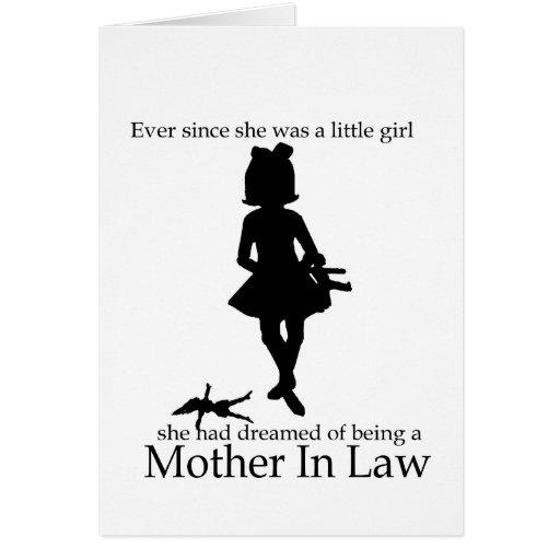 Mother in Law Birthday Card | Zazzle