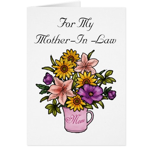 Mother-In-Law Card | Zazzle