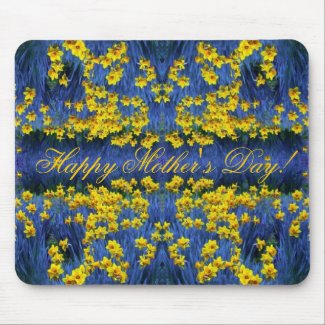 Mother's Day Daffodil Spring Fantasy mousepad