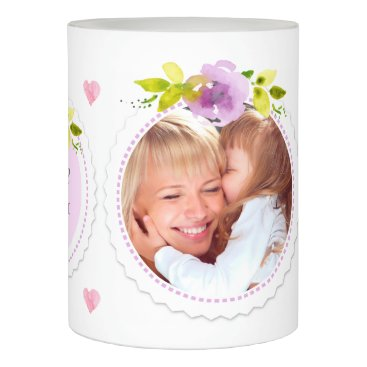 Mother's Day Photo Collage Flameless Candle
