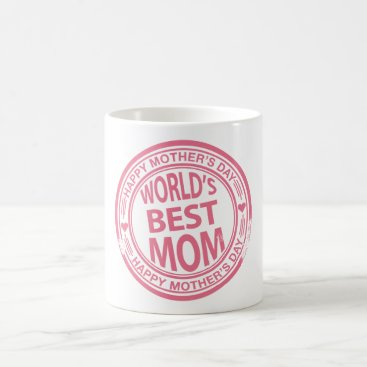 Mother's Day rubber stamp effect Coffee Mug