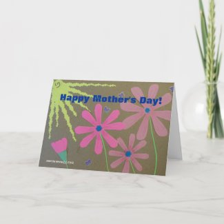 Mother's Day - Scrapbook Card zazzle_card