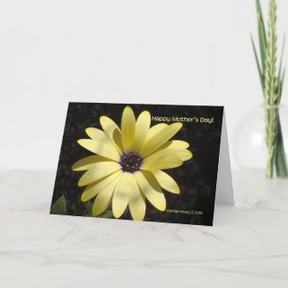 Mother's Day - Yellow Daisy (1) - Card - Customize card