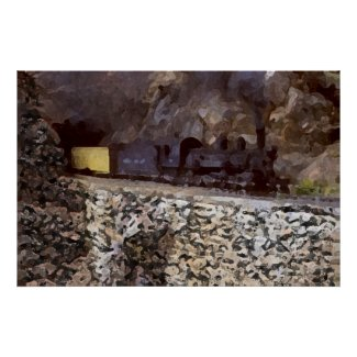 Mountain Tunnel zazzle_print