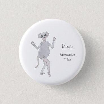 Mouse Nutcracker Keepsake Button