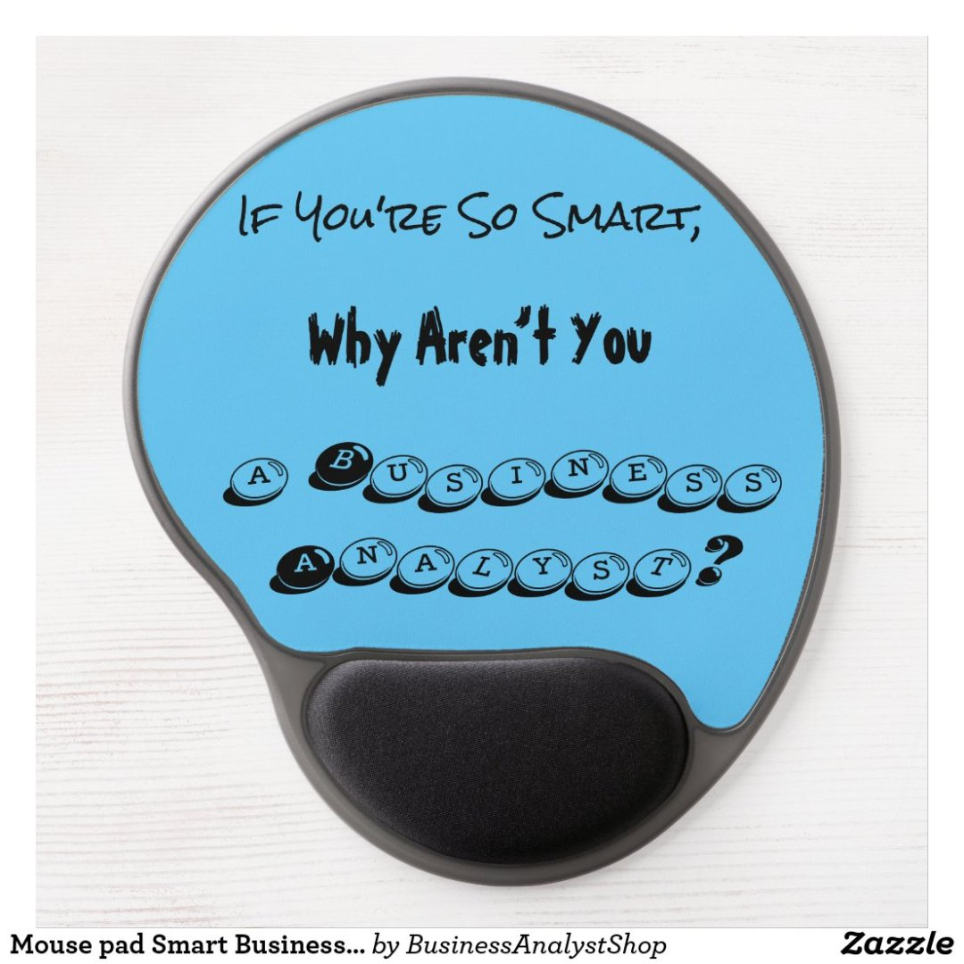Mouse pad Smart Business Analyst