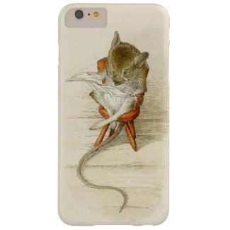 Mouse Reading Newspaper Barely There iPhone 6 Plus Case