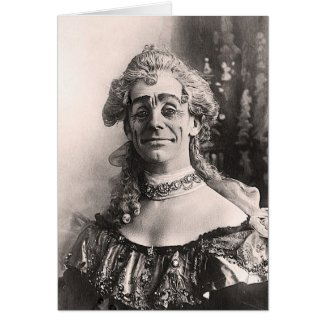 Mr Dan Leno as Mother Goose Cards