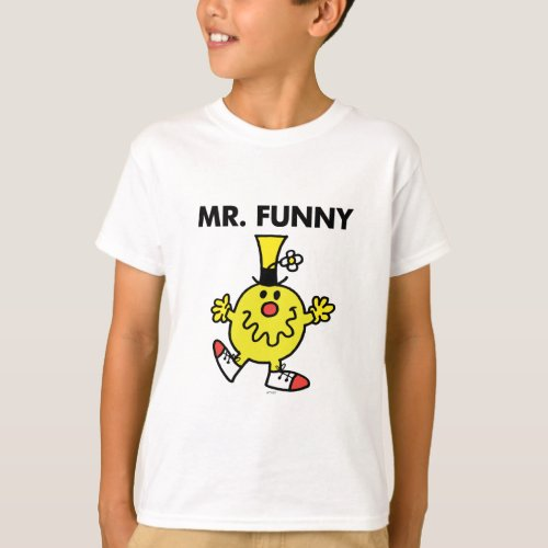 Mr. Funny   Funny Face T-Shirt