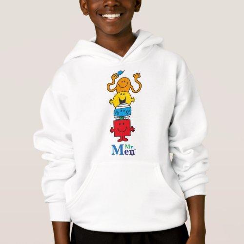 Mr. Men   Mr. Men Standing Tall Hoodie