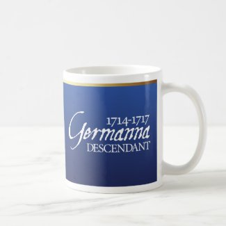 Mug: Germanna Descendant
