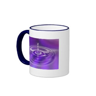 Mug - Purple Water Drop mug