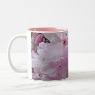 MUG - Soft and pretty pink Rhododendrons mug