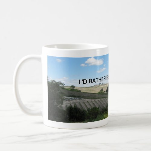 Mug: Vineyard scene Coffee Mug