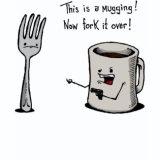 Funny T-Shirts & Gifts - Mugging