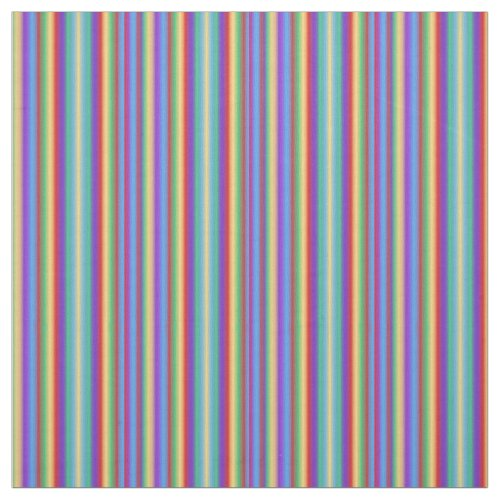Multi Color Stripes Fabric