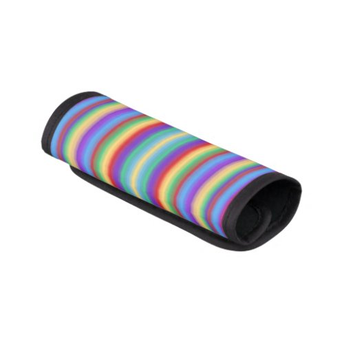 Multi Color Stripes Luggage Handle Wrap