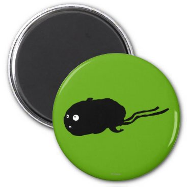 Mummy Hamster Silhouette Magnet