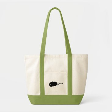 Mummy Hamster Silhouette Tote Bag