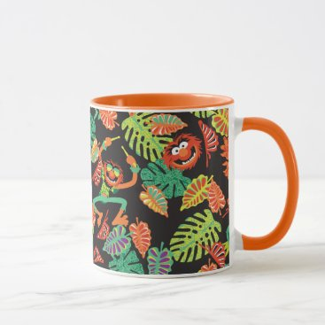Muppets | Tropical Kermit & Animal Pattern 2 Mug