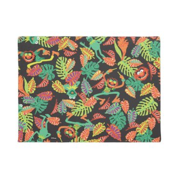 Muppets | Tropical Kermit & Animal Pattern Doormat