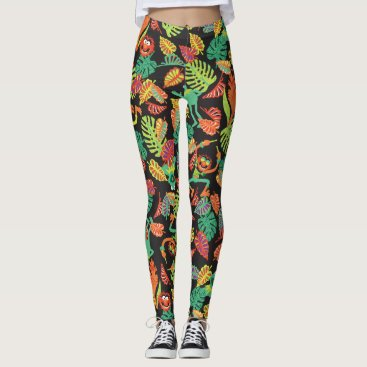 Muppets | Tropical Kermit & Animal Pattern Leggings