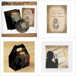 Murder Mystery Party Items