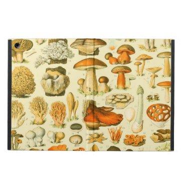 Mushroom Vintage Toadstool Botanical Art Case For iPad Air