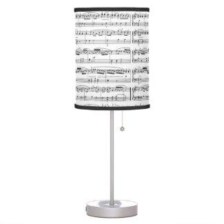 music light desk lamp