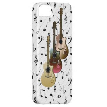 Music Player 3 Guitars Case-Mate iPhone 5
