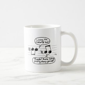 Musical Humour Cartoon Coffee Mugs