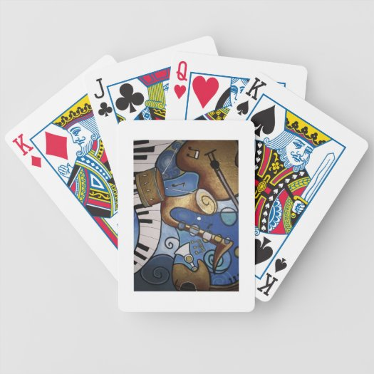 Musical Instruments Playing Cards playing cards