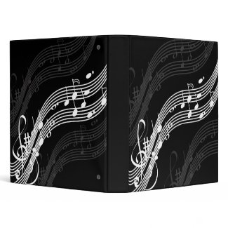 Musician Notes, Composer binders binder