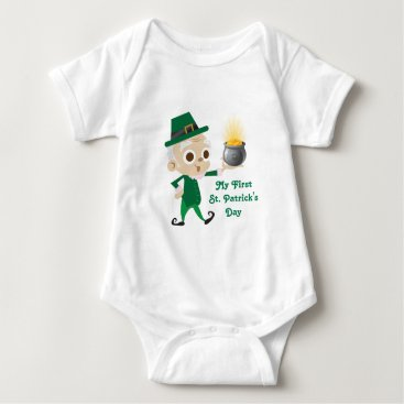 My First St Patrick's Day Baby Bodysuit