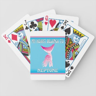 My Heart Belongs To Neptune Card Decks