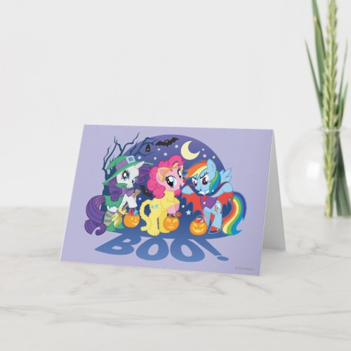 My Little Pony, Halloween Boo Card