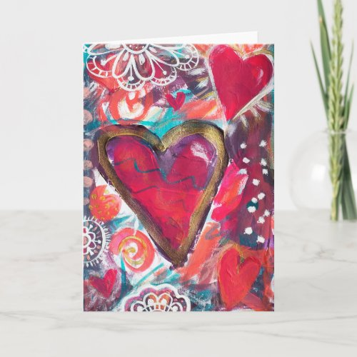 My Loving Heart, 080814 Thank You Card