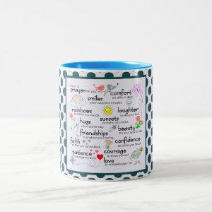 My Prayer For You Two-Tone Coffee Mug